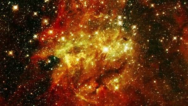 Let přes galaxii