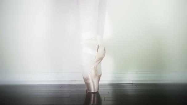 elegante Balletttänzerin Nahaufnahme