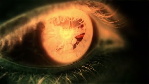 upíří oči makro
