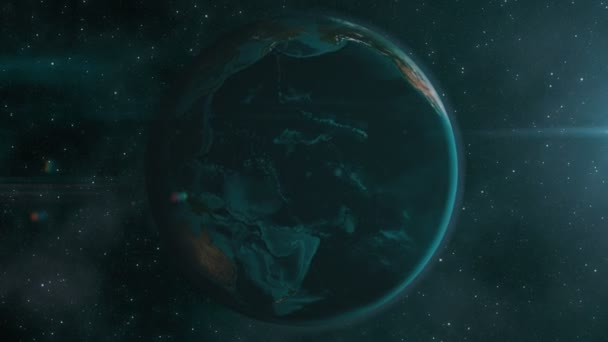 Earth zoom to Mexico