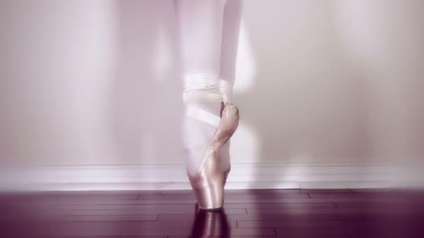Elegantní baletní tanečník closeup