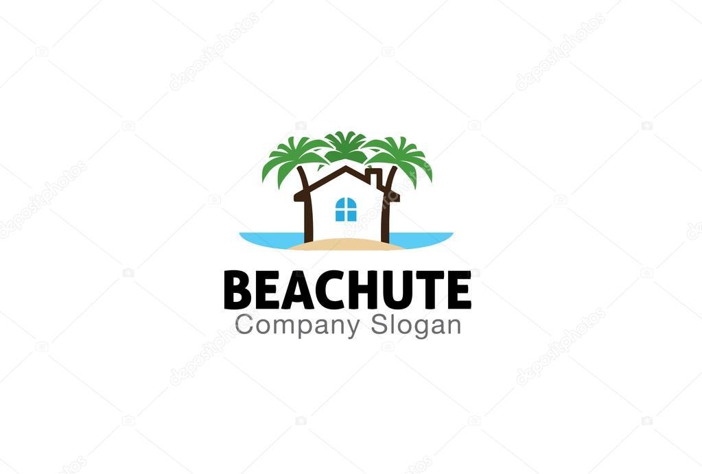 Beach Hut Design Illustration