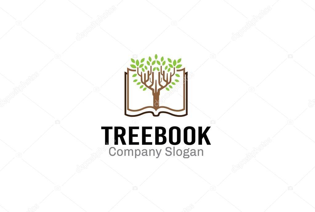 Tree Design Book Illustration