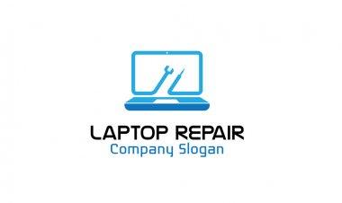 Laptop Repair Design illustration