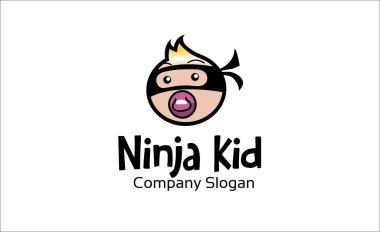 Ninja Kid Design Illustration