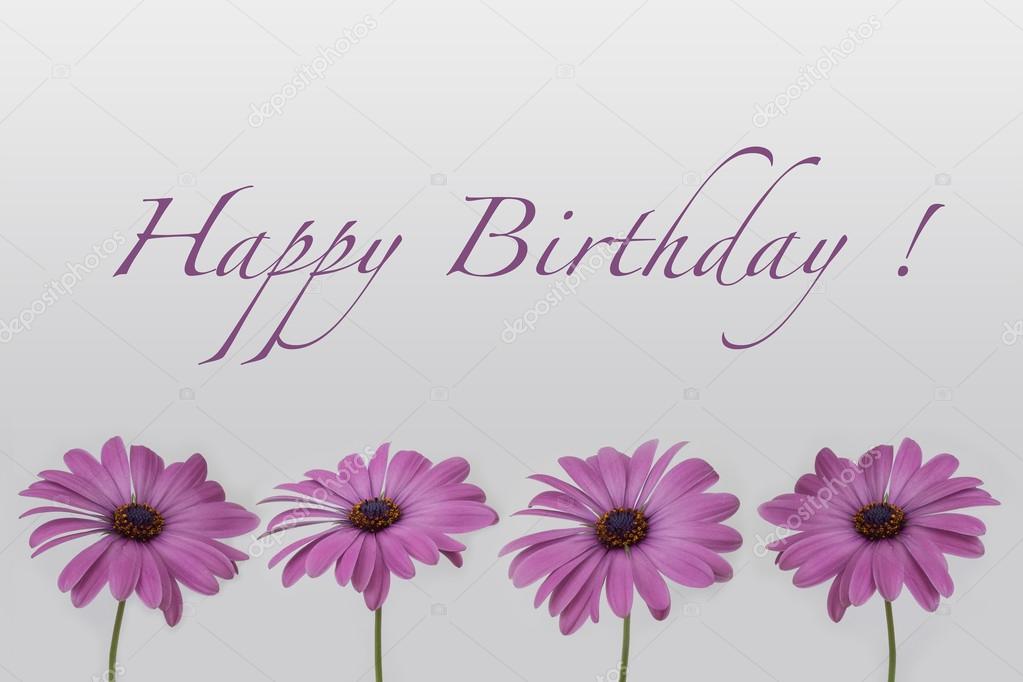 boldog születésnapot virág Boldog születésnap kártya   virágok és a kézzel írt szöveget  boldog születésnapot virág