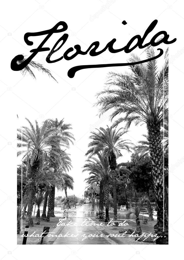 Summer city print