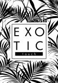 Exotické listy s heslem