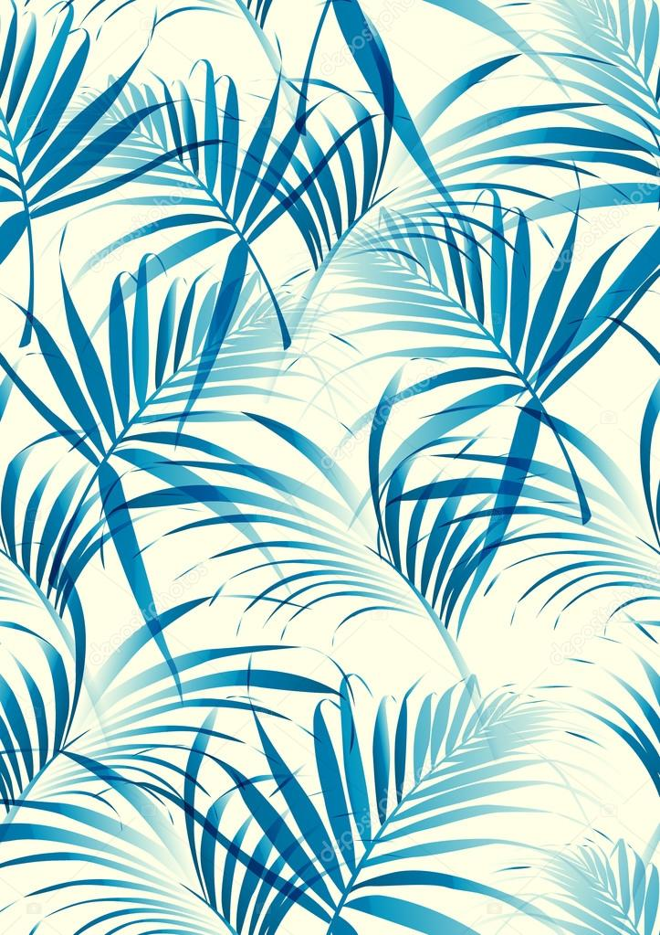 Tropical Leaves Pattern Stock Vector © WorkingPENS 60 Awesome Tropical Leaves Pattern