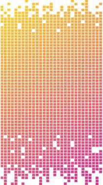 Colorful pixel pattern