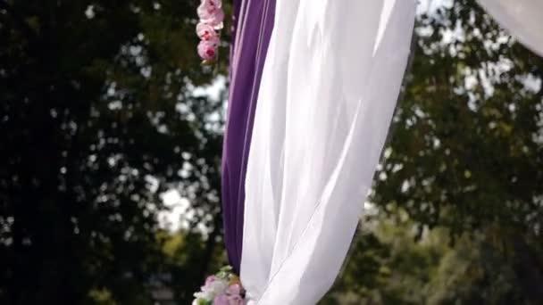 wedding arch, decor, ceremony, flowers