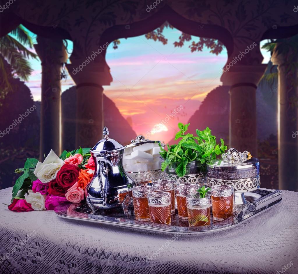 Cocina marroquí, tradicional — Foto de stock © microstocker1 #111330956