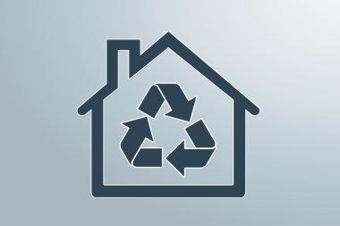 house eco background