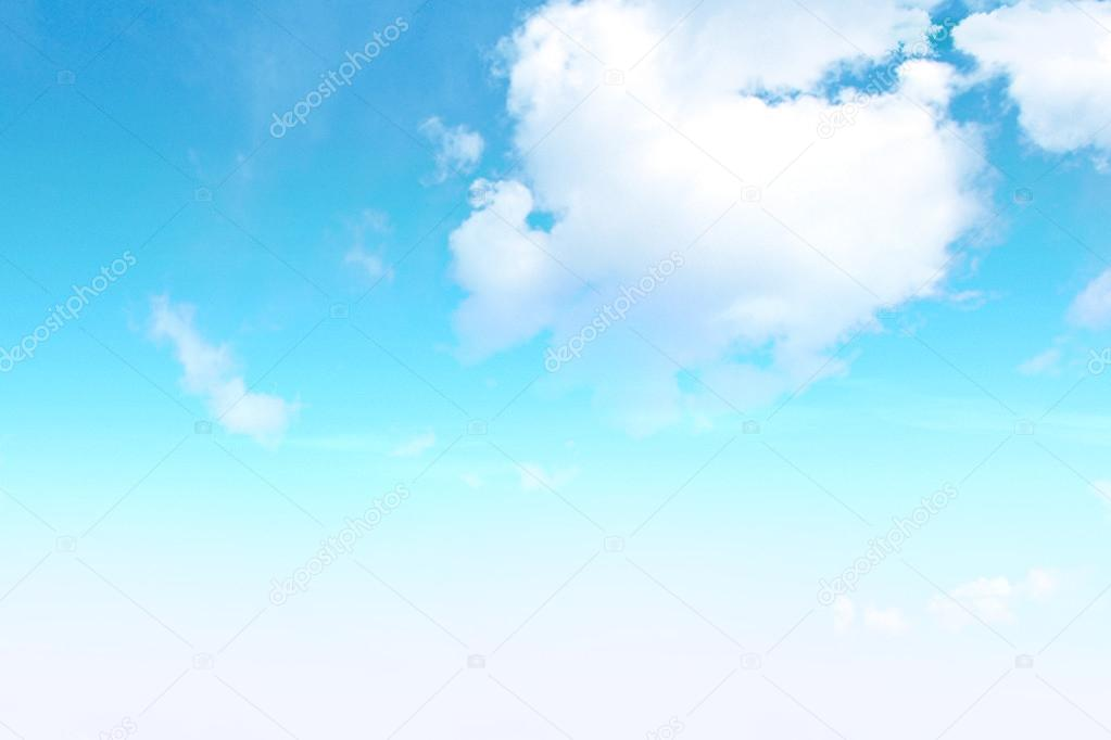 New Sky clouds background