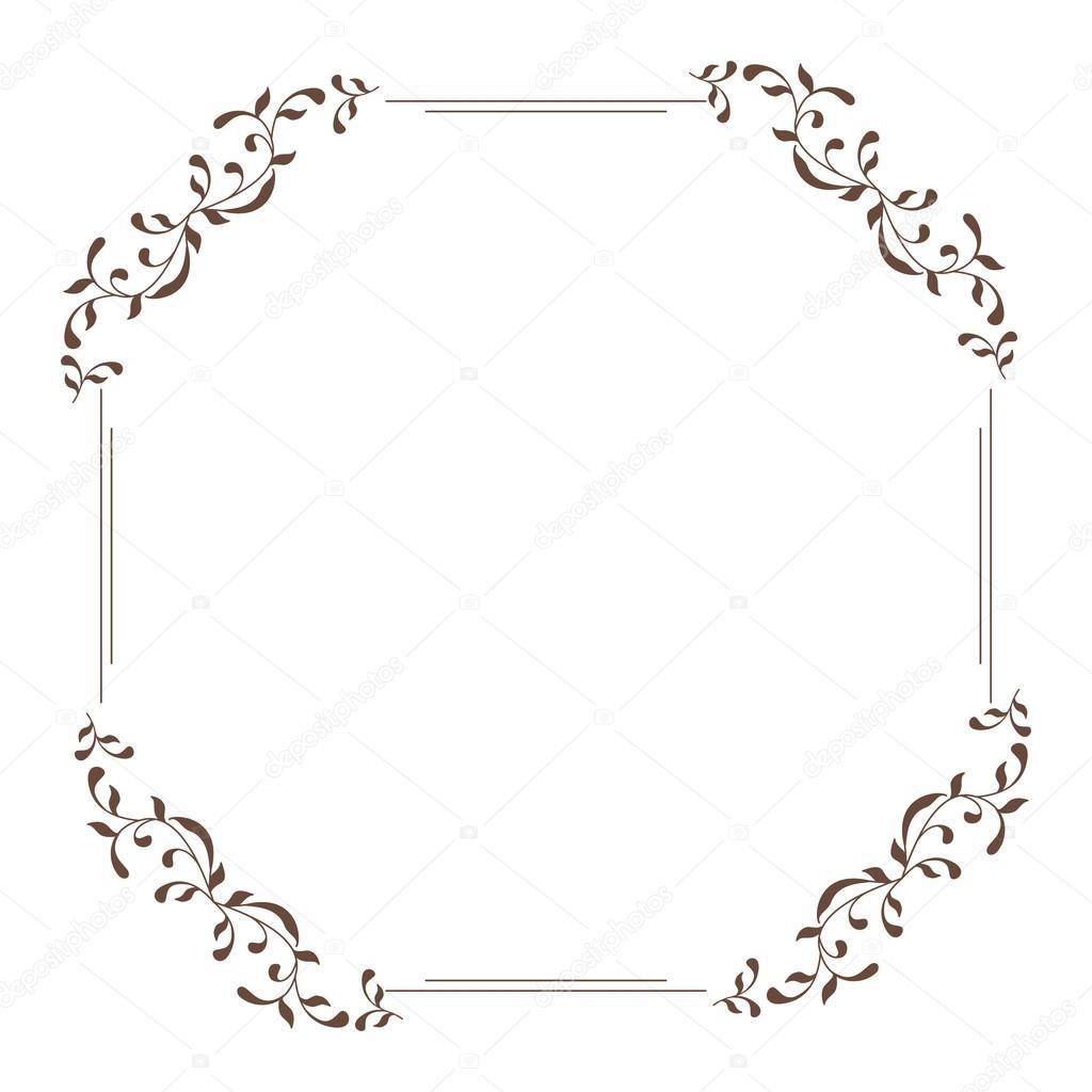 d26dcdee697b Decorative square frame vintage style — Stock Vector © collibri ...