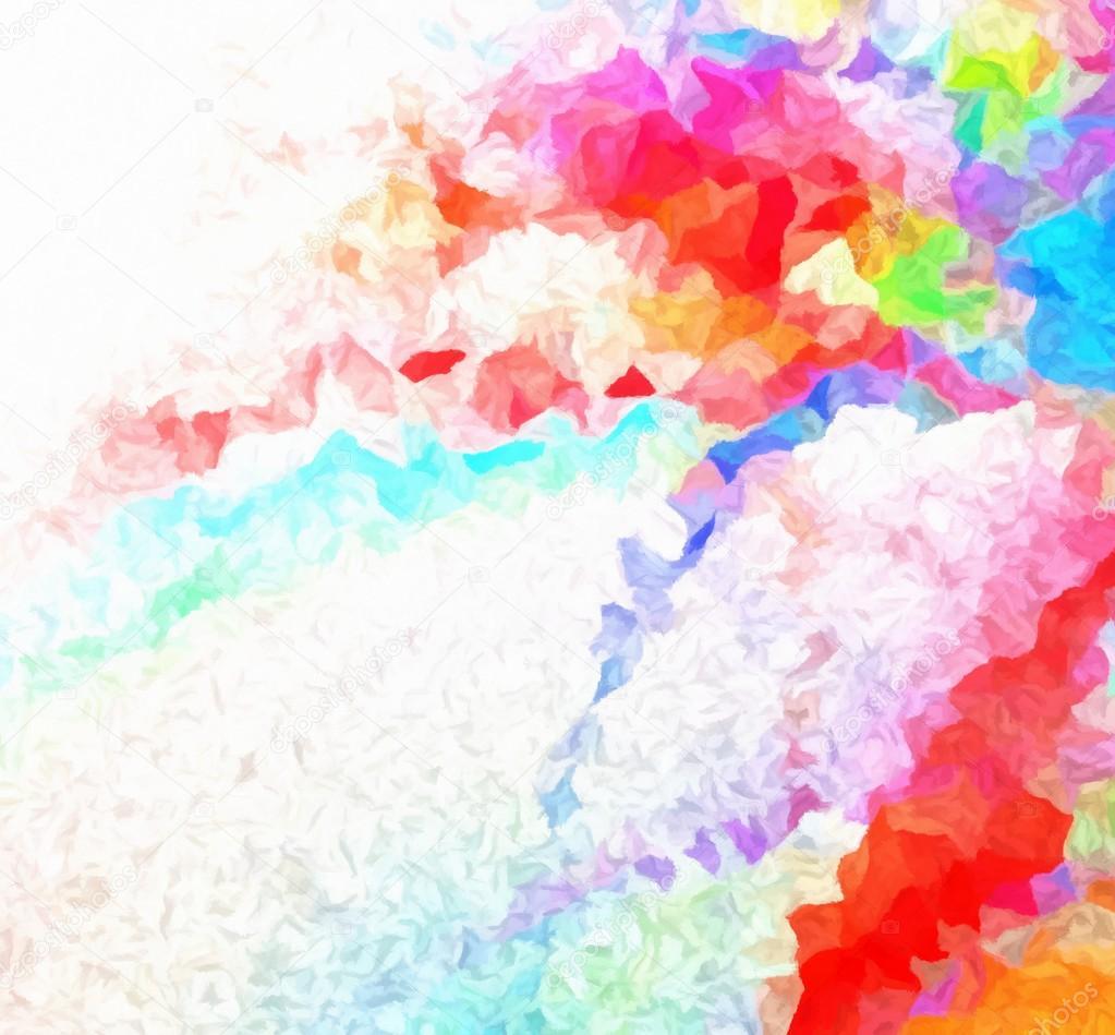 multicolored digital painting background stock photo matahiasek
