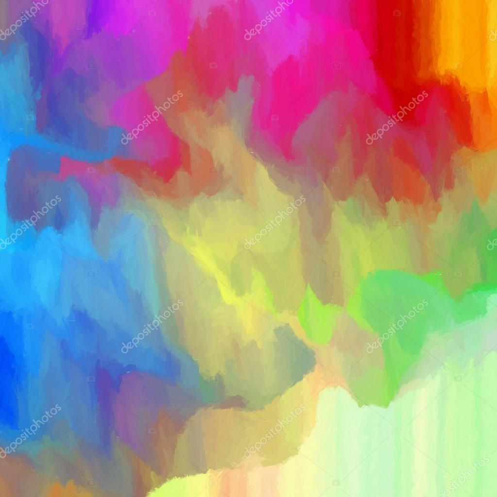 abstract colorful background digital painting stock photo