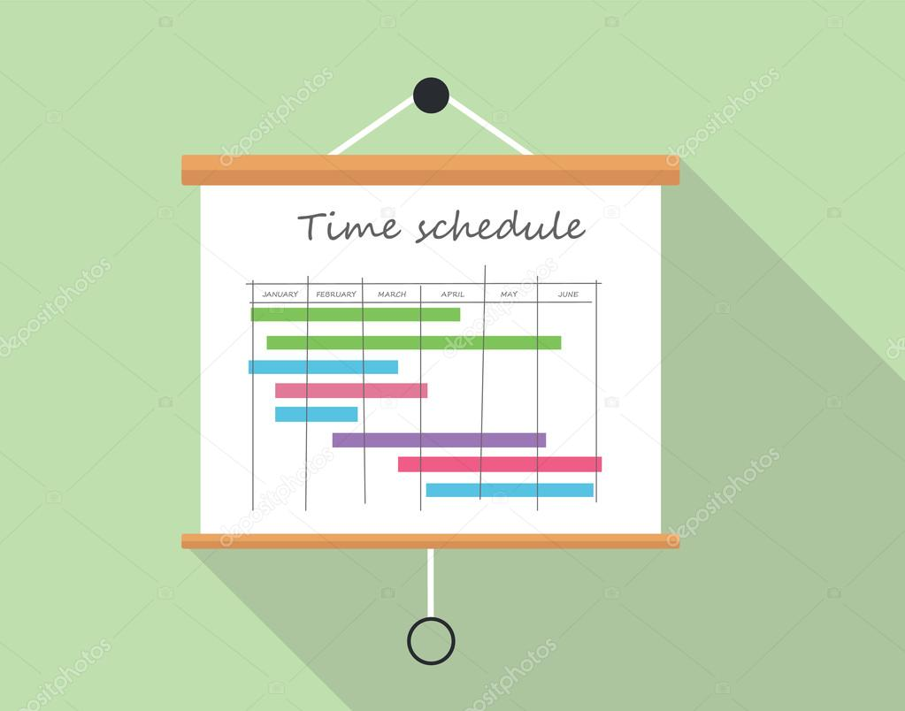 project time schedule