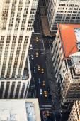 Krásný pohled na panorama Manhattanu