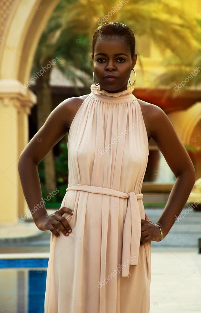 La De MujeresMujer Africana Etnia Para ImágenesVestidos Negra Xn0wON8PZk