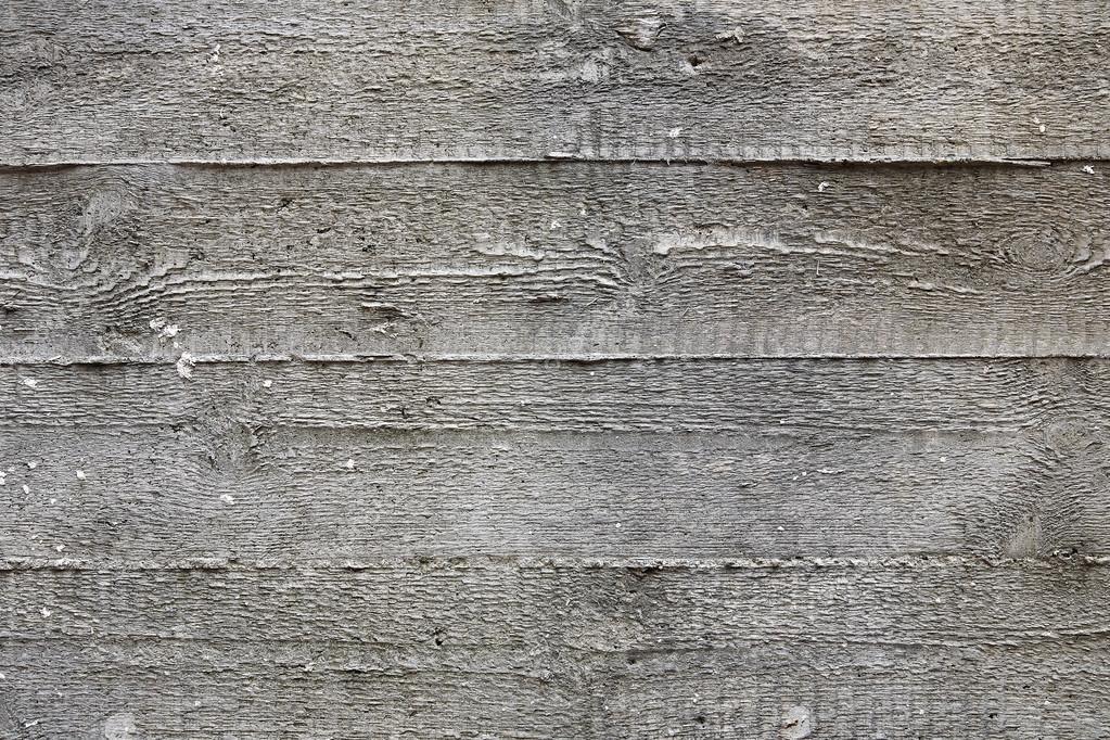 Wandplanken Van Beton : Structuur van houten planken afgedrukt op beton u stockfoto
