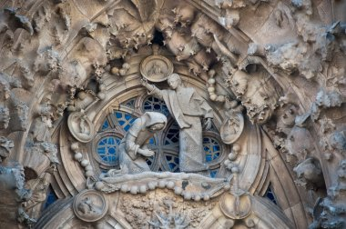 Nativity Facade dedicated to the stages of Christ's life