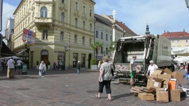 Alter Platz v Klagenfurtu