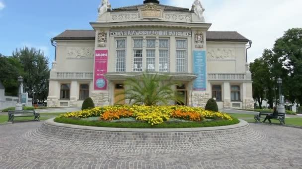 Fasáda divadlo Klagenfurt