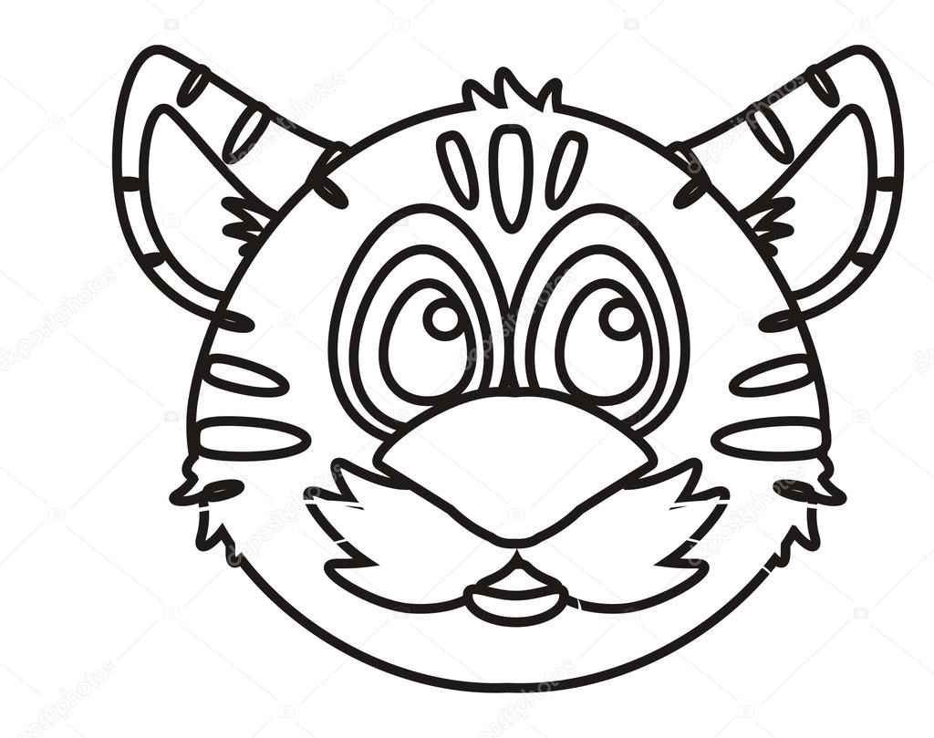 boca de tigre para colorear foto de stock tatty77tatty 101700108