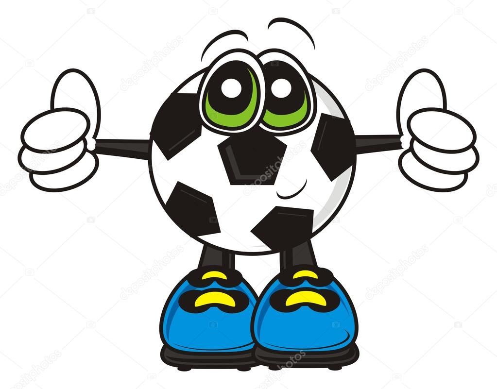 Soccer Ball Showing Sign Cool Stockfoto Tatty77tatty 104574788