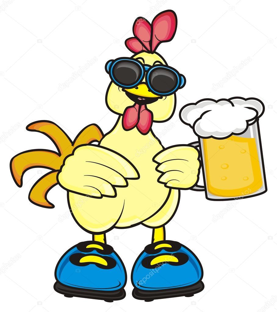 Beige Cheerful Cock Stock Photo Tatty77tatty 115551794