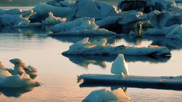 Eisberg der gefrorenen Landschaft Klimawandel