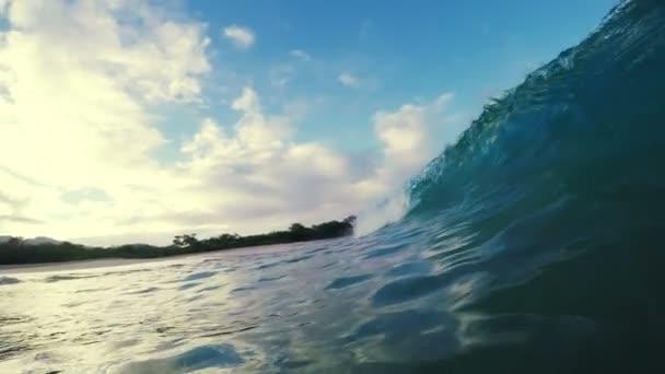 Podvodní Blue Ocean Wave