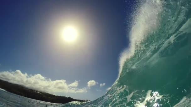 POV szörfözés extrém Sport lassított Hd Gopro