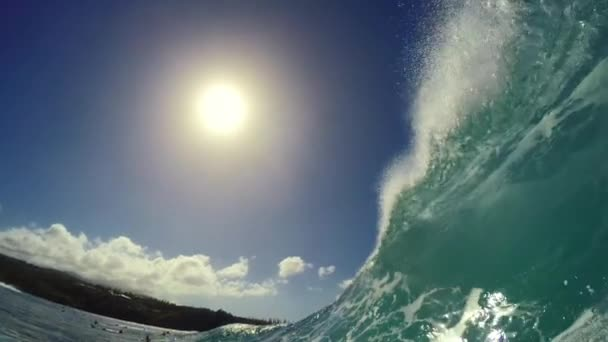 POV Surfing Extreme Sport Slow Motion HD GOPRO
