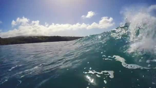 POV surfování extrémní Sport Slow Motion Hd Gopro
