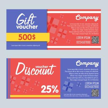 Gift voucher bitmap template