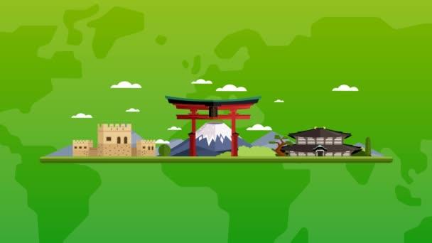 Üdvözöljük Asia, utazás a világ fogalmát