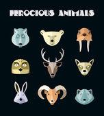 Fotografie ilustrace zvířat