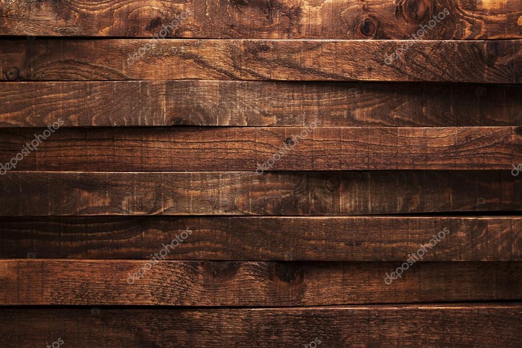 Dark Wooden Texture Background Brown Old Wood Planks