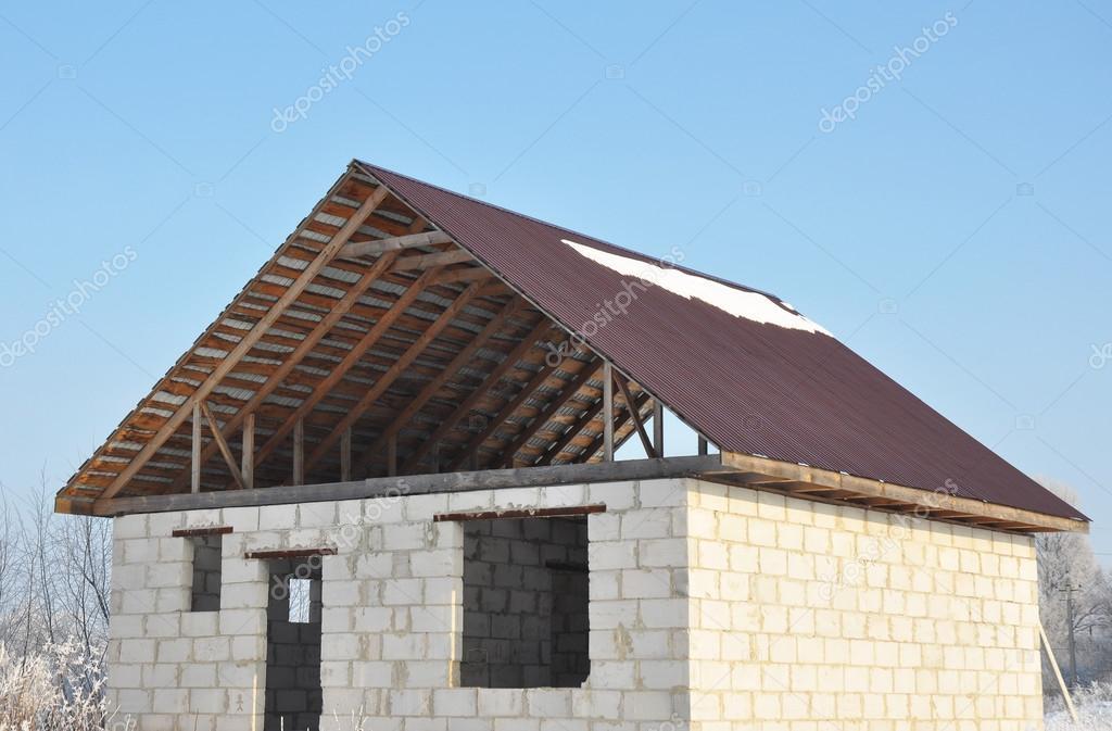 Costruzione di coperture costruzione nuova casa da for Costo di costruzione casa di mattoni