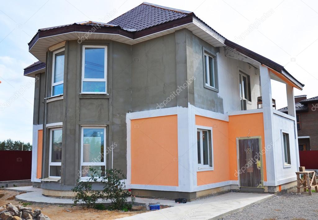 gallery of closeup op schilderen en pleisteren huis