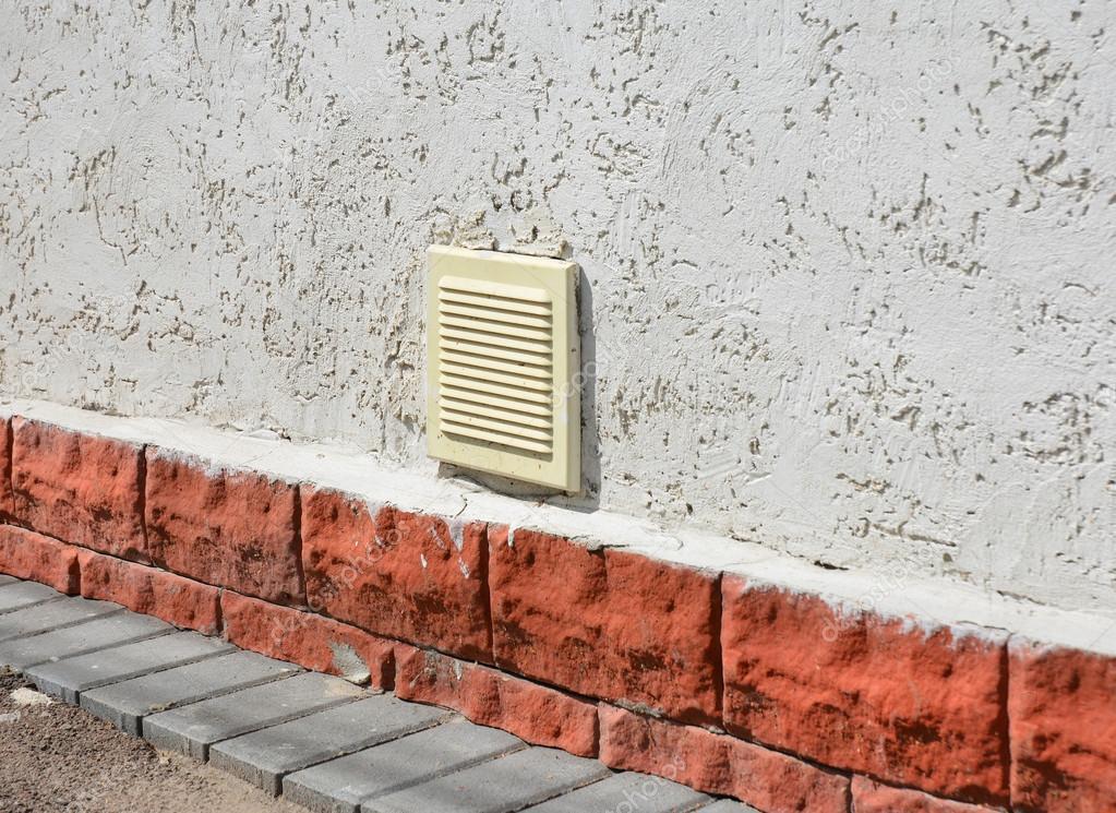 Beroemd Huis garage ventilatie systeem buitenkant. Parkeergarage LX88