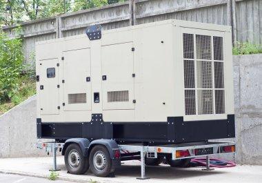 Mobile Diesel Backup Generator for Office Building