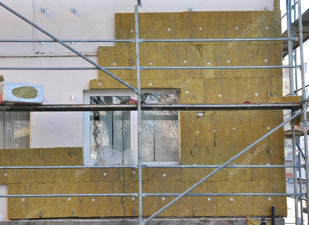 Wall Insulation Types : House external wall insulation with fiberglass energy