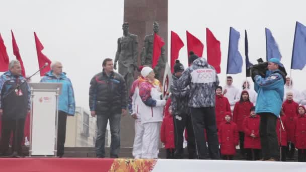 Petrohrad, Rusko - 27 října 2013: Zybina Zapal Soči