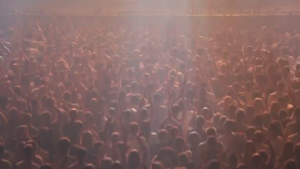 Dav na koncertě
