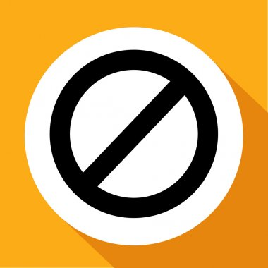 Vector Stop Sign Icon