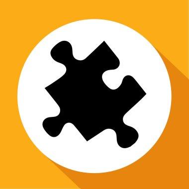 Vector icon puzzle