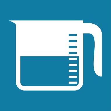 measuring cup vector icon illustration